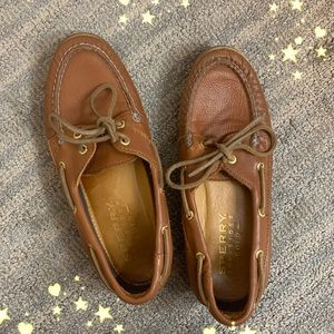 Sperry shoes (gold)